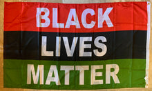 Black Lives Matter Pan-African 3'X5' Double Sided Flag Rough Tex® 100D