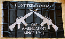2nd Amendment Since 1791 Don't Tread On Me M4 Black Flag 3'X5' Rough Tex® 68D Nylon