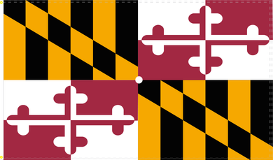 2'X3' 100D MARYLAND FLAG