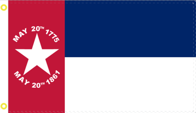 2'X3' 100D NC REPUBLIC FLAG