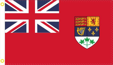 2'X3' 100D OLD CANADA RED ENSIGN 1921-1957 FLAG
