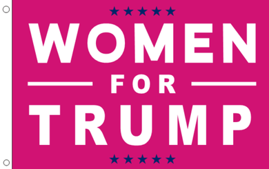 2'X3' 100D WOMEN FOR TRUMP FLAG