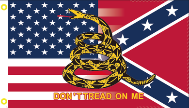 United States Gadsden CS NAVY JACK 2'x3' 100D Flag Rough Tex ®