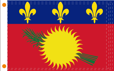 2'X3' FLAG OF GUADELOUPE FLAG