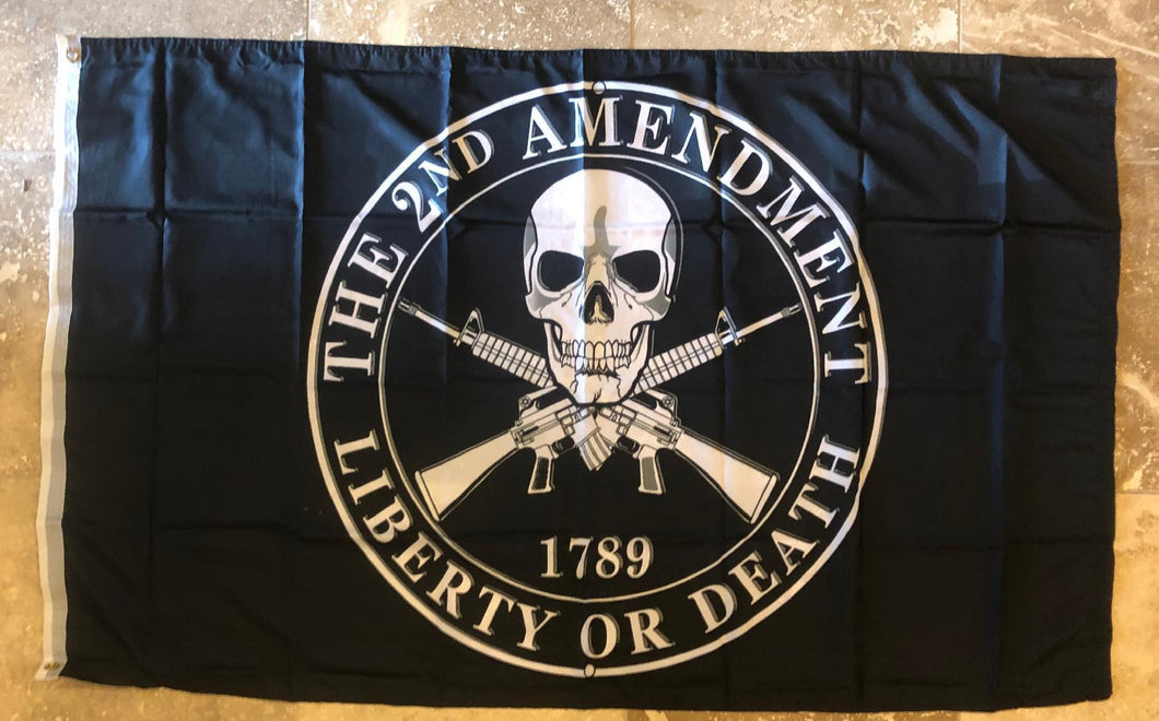 3'x5' 2nd Amendment Liberty or Death Rough Tex ® 100D Flags
