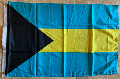 Bahamas 2'X3' Flag- Rough Tex ®100D