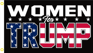 3'X5' 100D WOMEN FOR TRUMP USA FLAG