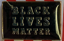 Black Lives Matter Cloisonné Hat & Lapel Pin