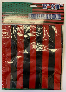 Afro American 12''X18'' Flag With Grommets  Rough Tex® 100D