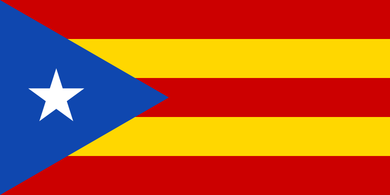 Catalan Independence Flag 3x5ft 100D