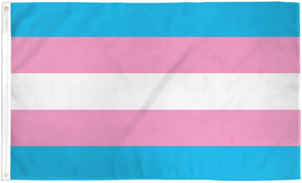 Transgender 3'x5' Flag 68D Rough Tex® Nylon