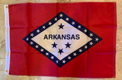 Arkansas Flag Rough Tex ® 2'x3' 150D