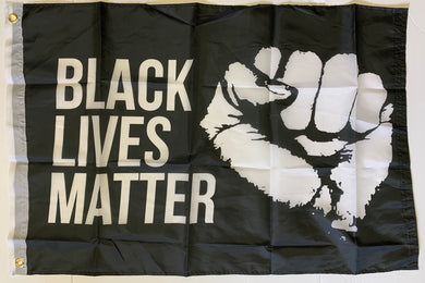 Black Lives Matter Militant Fist 2'X3' Flag Rough Tex® 68D Nylon