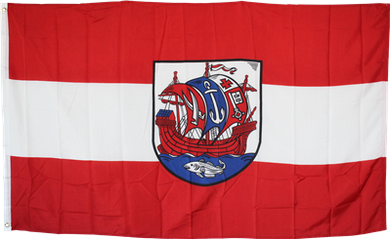 Bremerhaven Germany Flag 3x5ft 100D
