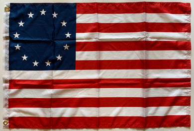 Betsy Ross Flag 2'X3' Flag Rough Tex® 100D
