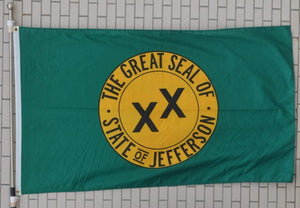State Of Jefferson 2'X3' Flag Rough Tex® 100D