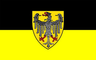 Aachen Germany Flag 3x5ft 100D