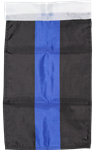 Thin Blue Line Police Garden Flag 115D