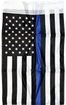Police Memorial Single-Sided Polyester Garden Flag 100D