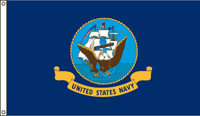 US Navy 3'X5' Flag Rough Tex® Nylon