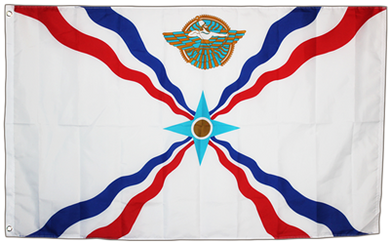 Assyria Flag 3x5ft 100D