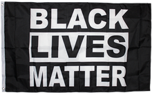 Black Lives Matter 3'X5' Single Sided Flag Rough Tex® 100D