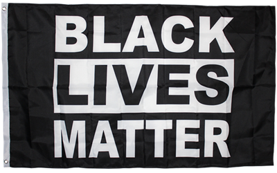 Black Lives Matter Flag 2'x3'- Rough Tex® 100D