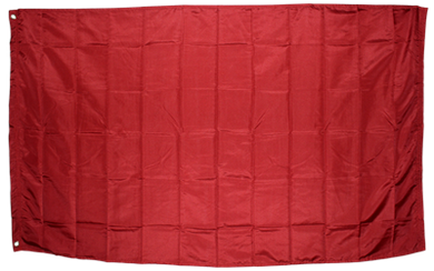 Burgundy Flag Solid Color 2x3ft 210D Nylon