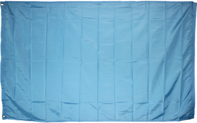 Sky Blue Flag Solid Color 3x5ft Nylon 210D