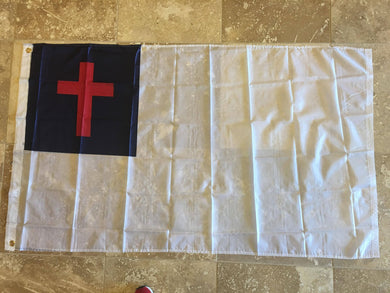 3'x5' CHRISTIAN 68D NYLON FLAG