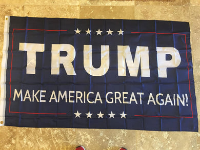 TRUMP MAKE AMERICA GREAT AGAIN! FLAG 68D NYLON 3'X5' MAGA