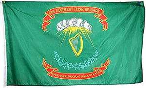 12 2'X3' 69TH IRISH BRIGADE UNION CIVIL WAR FLAG FLAGS BY THE DOZEN WHOLESALE PER DESIGN!
