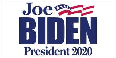 *IN STOCK NOW* JOE BIDEN PRESIDENT White 2020 Bumper Sticker