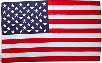 ECONOMY USA Polyester Flags Multiple Sizes- 12
