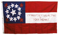 10th Texas Cavalry CSA CONFEDERATE 3'x5' Cotton Flag