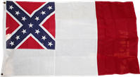 3rd National 3'x5' Cotton Flag