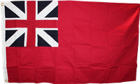 British Red Ensign 3'x5' Cotton Flag