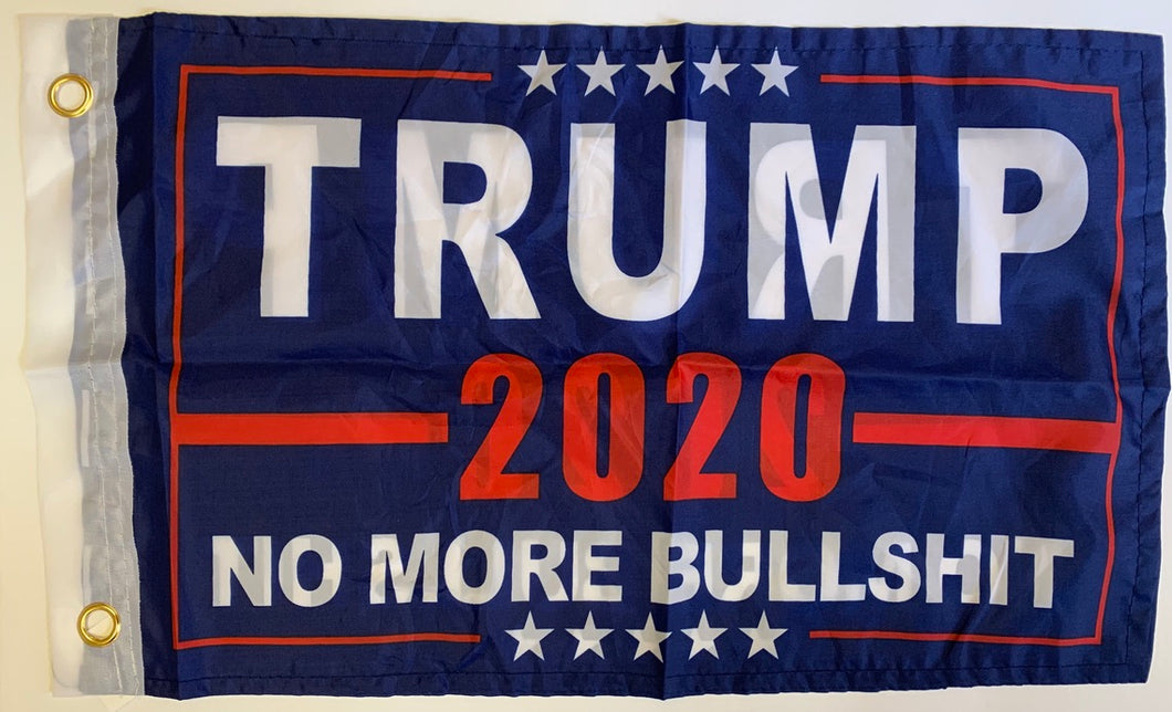 Trump 2020 No More Bullshit 12