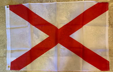 Alabama Flag Rough Tex ® 2'x3' 150D