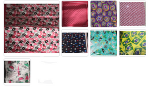 "Assorted Bandana Designs Head Wrap In Various Designs 100% Cotton 22""X22"""