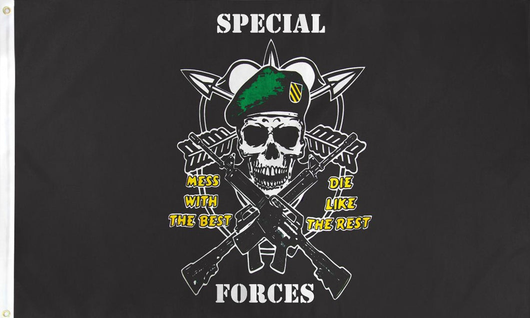 Special Force 3'X5' Flag Rough Tex® Super Polyester