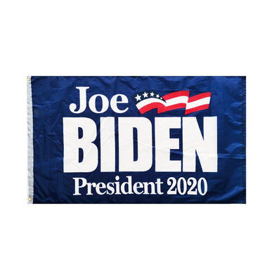 *NOW IN STOCK* Joe Biden Democratic Party 2020 Presidential Blue Single-Sided Flag 3'x5' DuraLite® 68D Nylon