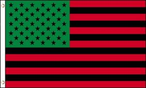 12 3'X5' AFRO AMERICAN FLAG 100D FLAGS BY THE DOZEN WHOLESALE PER DESIGN!