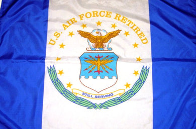 U.S. Air Force Retired 3'X5' Flag Rough Tex® Super Polyester