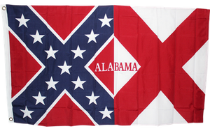 Alabama Battle flag 3'x5' polyester