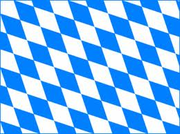 Bavaria Germany Flag 2X3ft 100D