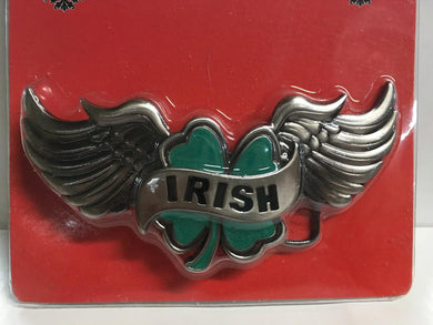 IRISH WINGS BELT BUCKLE