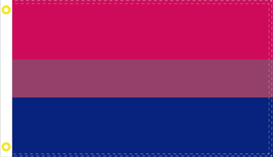 BISEXUAL PRIDE OFFICIAL FLAG 3X5 GAY
