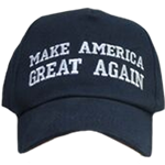 NAVY BLUE MAKE AMERICA GREAT AGAIN CAPS MAGA HATS