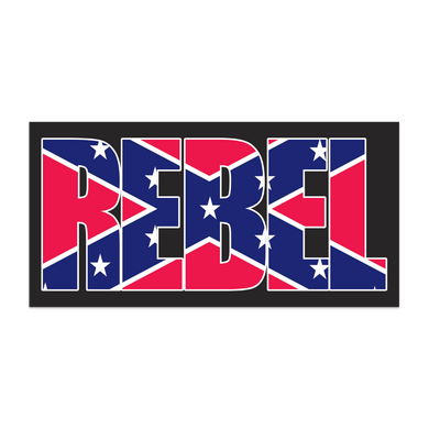 REBEL BLACK TACTICAL CONFEDERATE BATTLE FLAG BUMPER STICKERS PACK OF 50 WHOLESALE REBEL